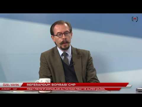 Referandum sonrası CHP Konuklar: Ali Haydar Fırat ve Alper Çelikel