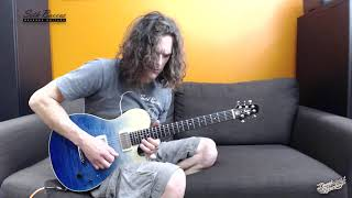 The bucket list guitar! Seth Baccus Nautilus Standard - Demo