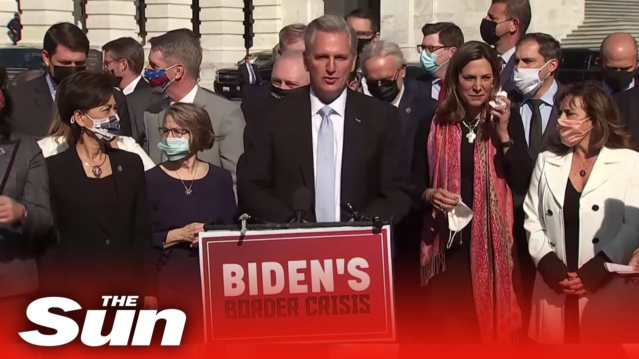 Joe Biden 'border crisis', GOP trash president's immigration policies