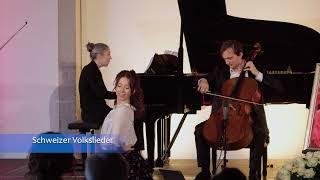 Swiss folk songs performed by Y. Revich (Stradivari), B. Klöckner and S. Keller (buservideo 204)