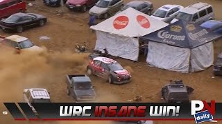 A Rally Driver Gets Lost In The Parking Lot…And Still Wins