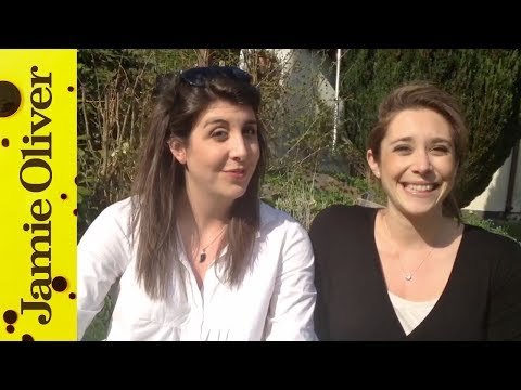 Chiappa Sisters Shout Out for Jamie Oliver's Food Revolution Day