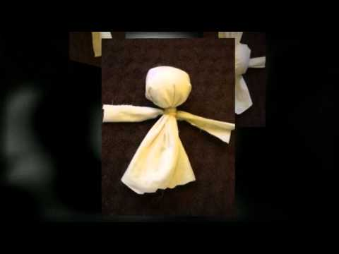 How to Make a No Sew Rag Doll