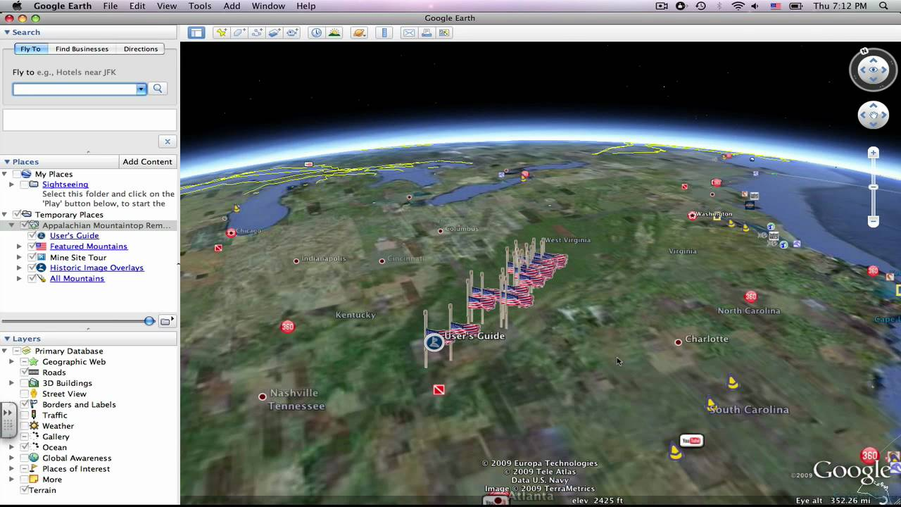 Google Earth #4: How to Use the Online Gallery