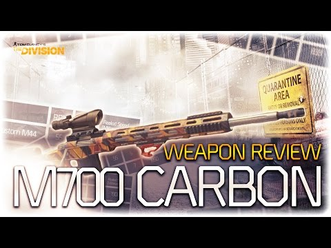 weapon review m700 carbon the division. Black Bedroom Furniture Sets. Home Design Ideas