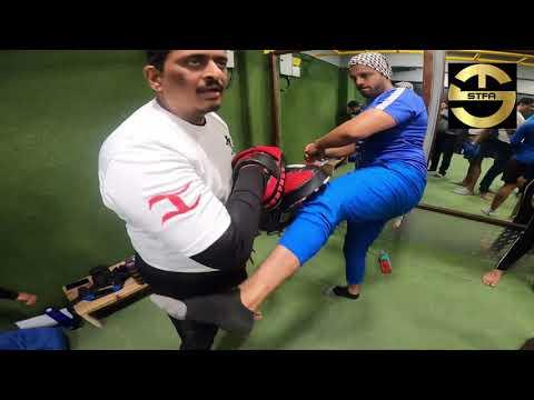 Kickboxing Workshop Level  01   STFA   Scientific Training Fitness Academy