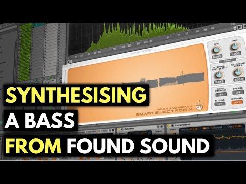 Bass Synthesis Using Found Sound | Found Sound & Sampling