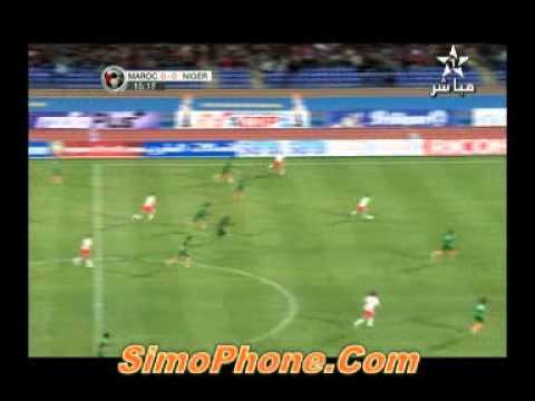 Vidéo match Maroc Vs Niger 1-0 : Buts mbark boussoufa et bakkali9 Février 2011 le 1 ier mi temps