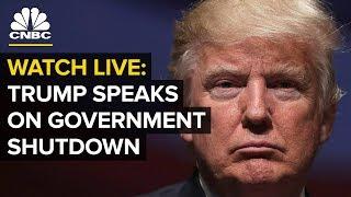 WATCH LIVE: President Trump speaks on government shutdown — Friday Jan. 25, 2019