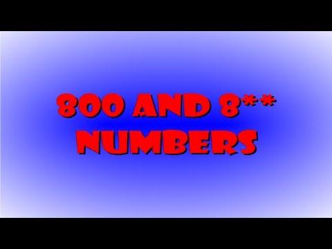 Toll Free Business Numbers Salinas, San Jose,  San Francisco, CA Toll Free Business Numbers