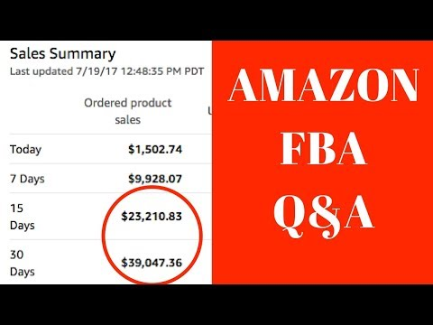AMAZON FBA & AFFILIATE MARKETING Q&A WITH TANNER J FOX