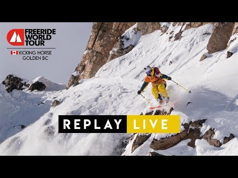 Replay LIVE - FWT18 Kicking Horse Golden BC Canada