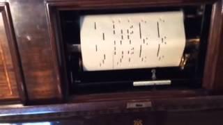 Steinway Pianola Piano plays