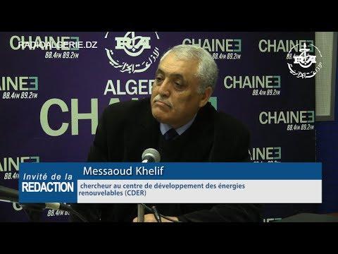 Messaoud Khelif chercheur au centre de développement des énergies renouvelables CDER