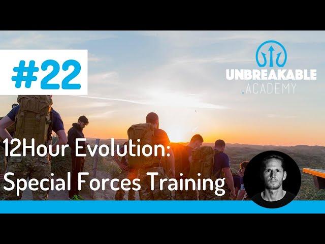 12Hour Evolution: het meest grensverleggende trainingsprogramma van Nederland.