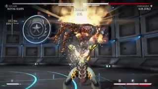 MKX - Kotal Kahn (Sun God) 65% BnB Combo (Post Patch)