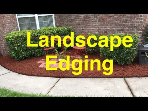 How To Install COL-MET Metal Landscape Edging ... - How To Install COL-MET Metal Landscape Edging - STOP Losing Mulch