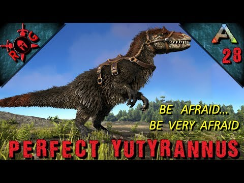 ARK: PERFECT YUTYRANNUS TAME! Ep 28 [Vanilla w/ S+] [Sons of AnARKy]