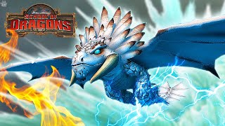 A FLYING BEWILDERBEAST! School of Dragons: Dragons 101 - The Chimeragon screenshot 5