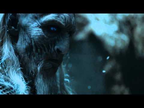 Jon Snow Kills A White Walker Game Of Thrones S05E08