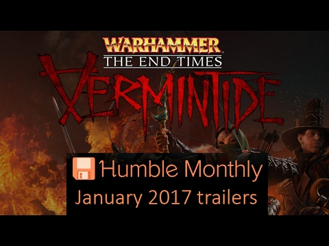 Humble Bundle Monthly January 2017 Game Trailers Youtube