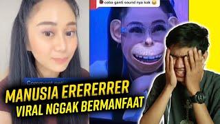 REACTION VIRAL TIKTOK DENISE CHARIESTA - ORANG KAYA SOMBONG !!