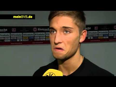 Eintracht Frankfurt - BVB: Interview mit Moritz Leitner