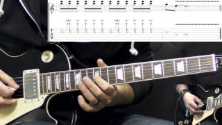 Gary Moore - Walking By Myself - Solo - Blues Guitar Lesson (with Tabs)