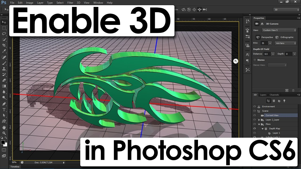 How to enable 3d menu in photoshop cs6 how to get 3d option in how to enable 3d menu in photoshop cs6 how to get 3d option in photoshop cs6 extended baditri Gallery