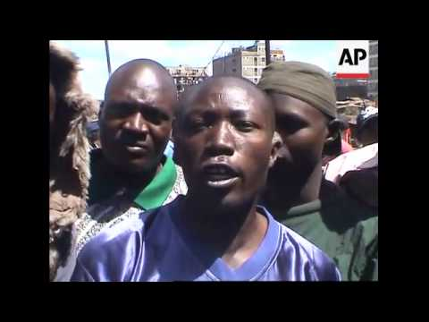 Massive looting, injured and dead in Mathare