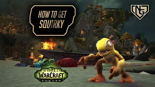 How to aquire Squirky - WoW battle pet Legion 7.2