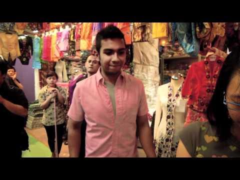 Singapore Idols Taufik Batisah and Hady Mirza at Geylang Serai