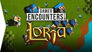 Loria ► New 'Retro' RTS Strategy Game like WarCraft 2 & 3 Gameplay - [Gamer Encounters]