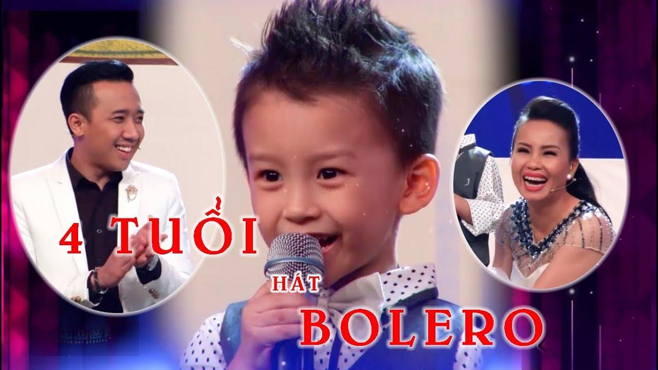 Cậu bé 4 TUỔI thuộc HÀNG TRĂM BÀI Bolero khiến TRẤN THÀNH CẨM LY phải 'ĐỨNG  NGỒI KHÔNG YÊN
