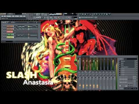 Slash Anastasia Instrumental cover (FL Studio)