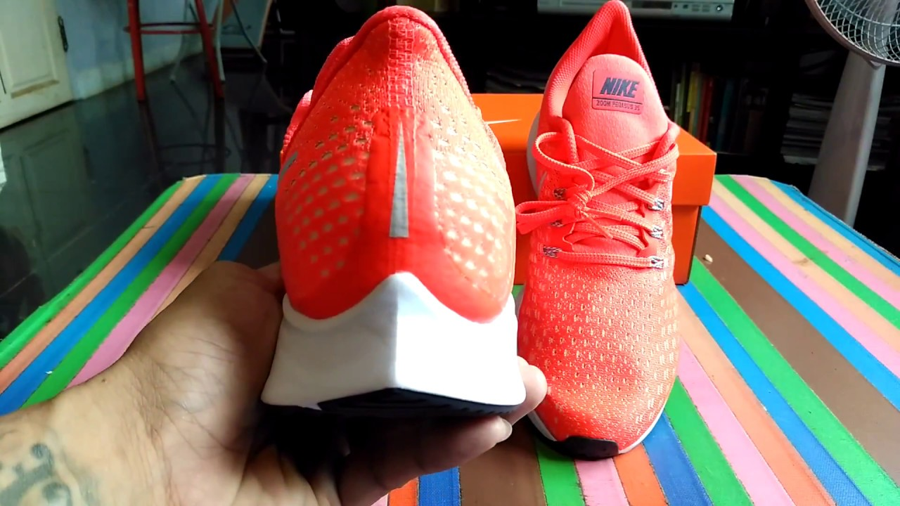 8602ab192b9e Nike Air Zoom Pegasus 35 Unboxing รีวิว แกะกล่อง From www.Nike.com ...