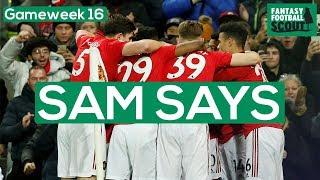 FPL GW16 | SAM SAYS (FPL FAMILY) | PREPARING FOR XMAS FIXTURES | Fantasy Premier League Tips 19/20