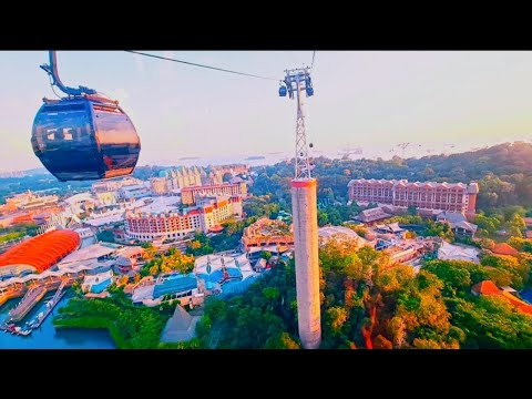 Singapore Cable Car | From Mount Faber Peak to HarbourFront to Sentosa | Explore Singapore