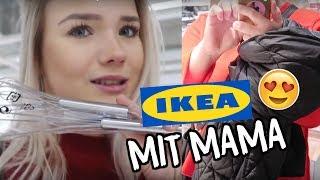 MIT MEINER MAMA ZU IKEA!👩👧Sachen für die Wohnung kaufen!😍