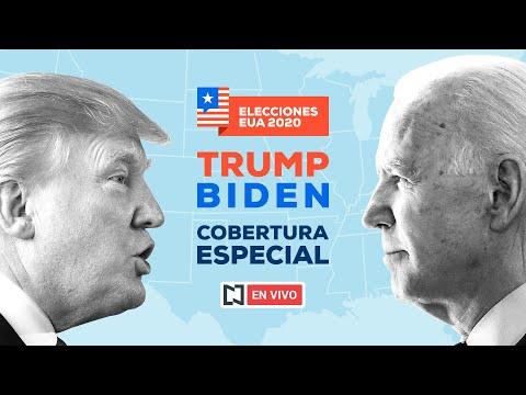Corte informativo elecciones presidenciales en Estados Unidos. #Elecciones2020