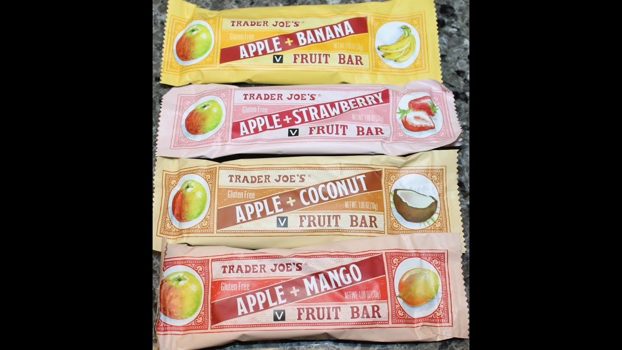 Image result for trader joe's fruit bars