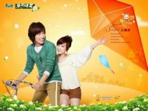 Jerry Yan & Cyndi Wang@ Master Kang JasmineTea ads