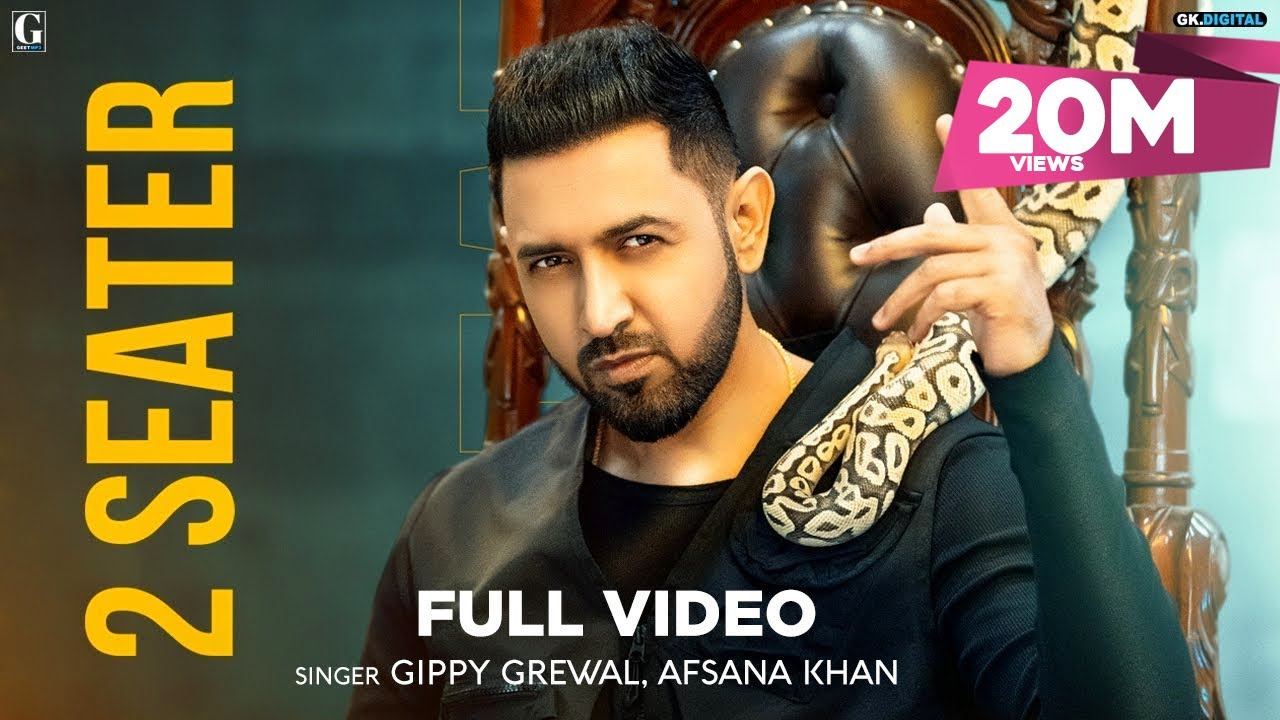 2 Seater : Gippy Grewal (Official Video) Afsana Khan | Amrit Maan | Sukh Sanghera | Geet MP3