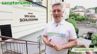 Спа-отель Шлосспарк (Schlosspark) Карловы Вары, экспертное мнение - sanatoriums.com