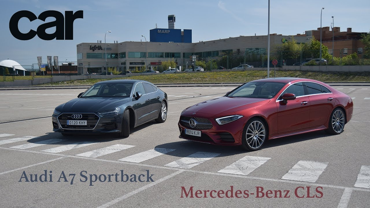 Comparativa Audi A7 Y Mercedes Benz Cls Prueba Test Review En