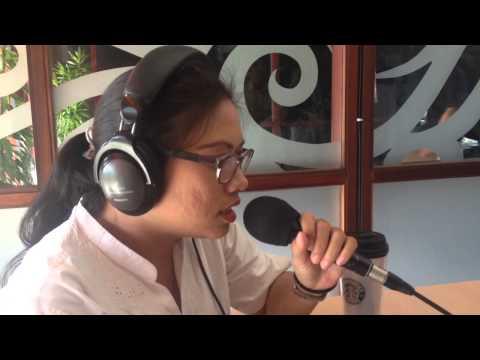 Interview live at Hard Rock Radio Bali