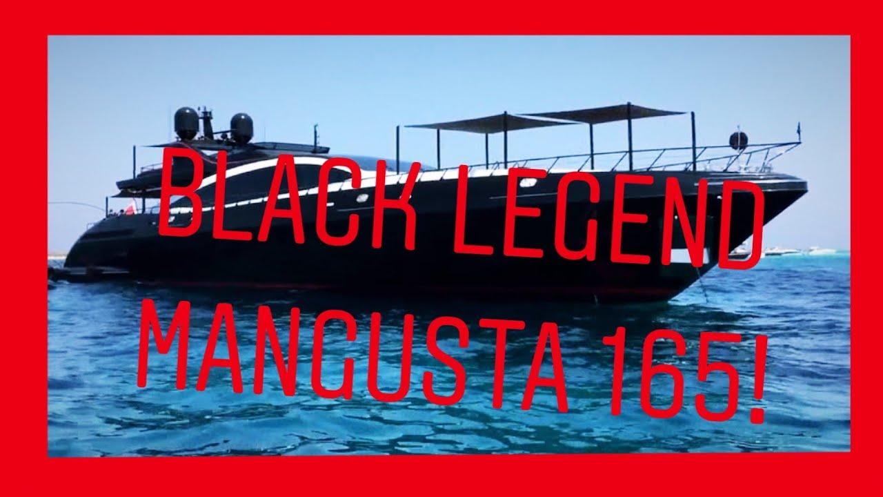 BLACK LEGEND Yacht Built By Mangusta In 2017 16371ft 49