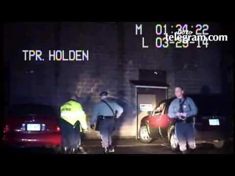 Video by Trooper Nicholas J. Holden, without official authorization, during 2014 traffic stop.