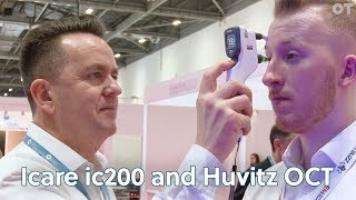 New launches from Mainline Instruments Icare ic200 and Huvitz OCT