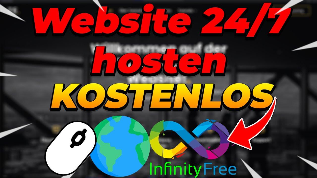 Website online stellen & GRATIS 24/7 HOSTEN mit SSL [Einfach] mit infinityfree.net | Tutorial Ecke